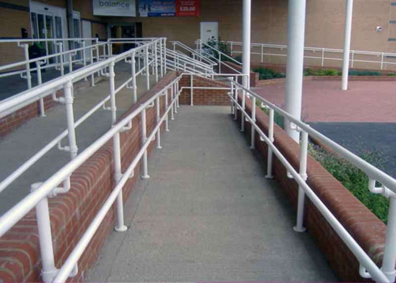 Ada Standards Guidelines Recommendations For Ada Compliant Handrail | Ada Compliant Exterior Handrails | Deck Railing | Hand Rail | Cable Railing | Wheelchair Ramp | Stair Railing