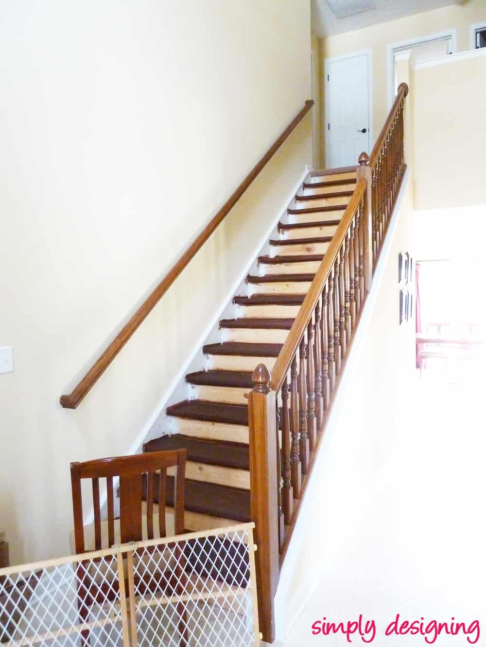 Staircase Make Over Part 2 Mistakes To Avoid And How To Do It Right | Rustic Carpet Stair Treads | Wood | Mat | Non Slip | Wool | Overstock