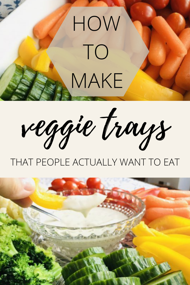 Tips and tricks for making a veggie tray that people will devour - no limp vegetables here! via @simplysidedishes89