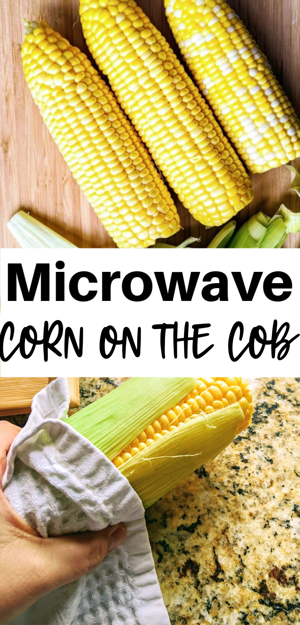 Corn on the cob in the microwave is the easiest way to cook this delicious side dish. You can cook it with or without shucking it - once you've mastered this delicious idea, you may never make it another way again! via @simplysidedishes89