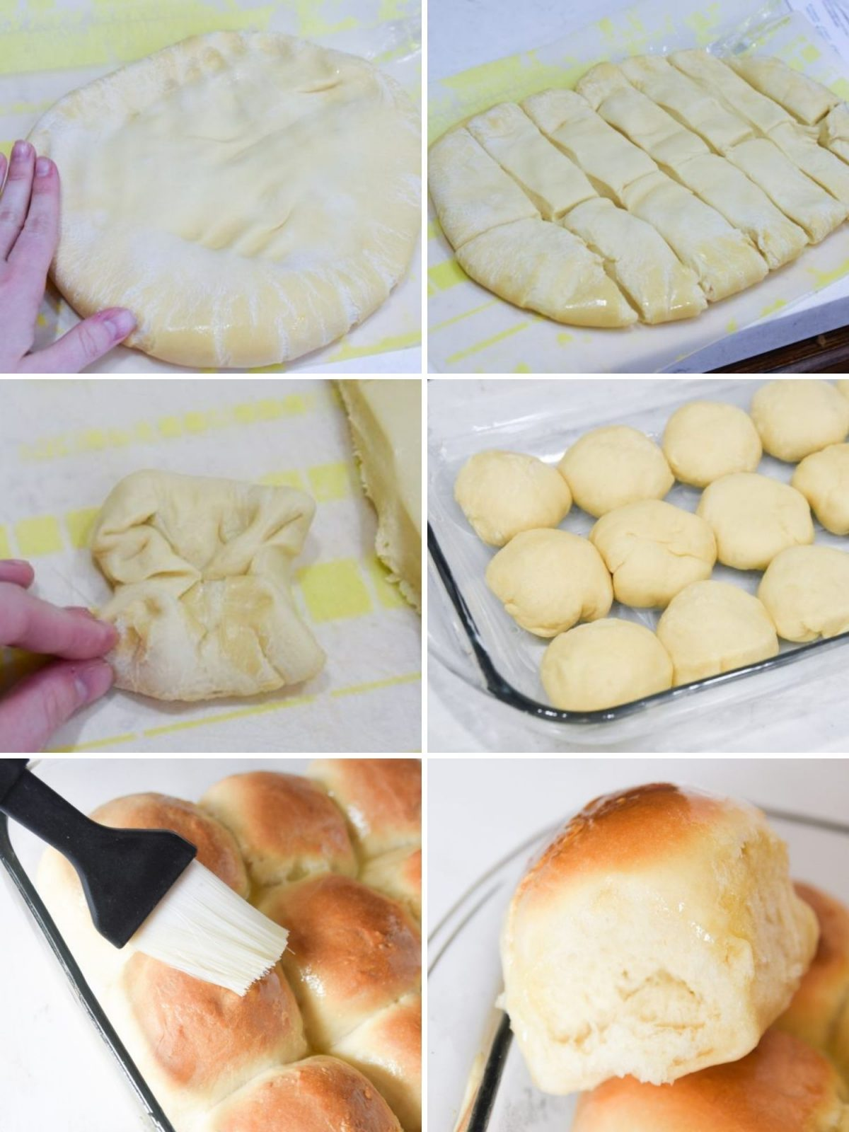 how to make sourdough rolls in pictures
