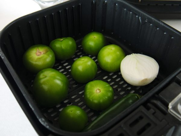 tomatillos in air fryer