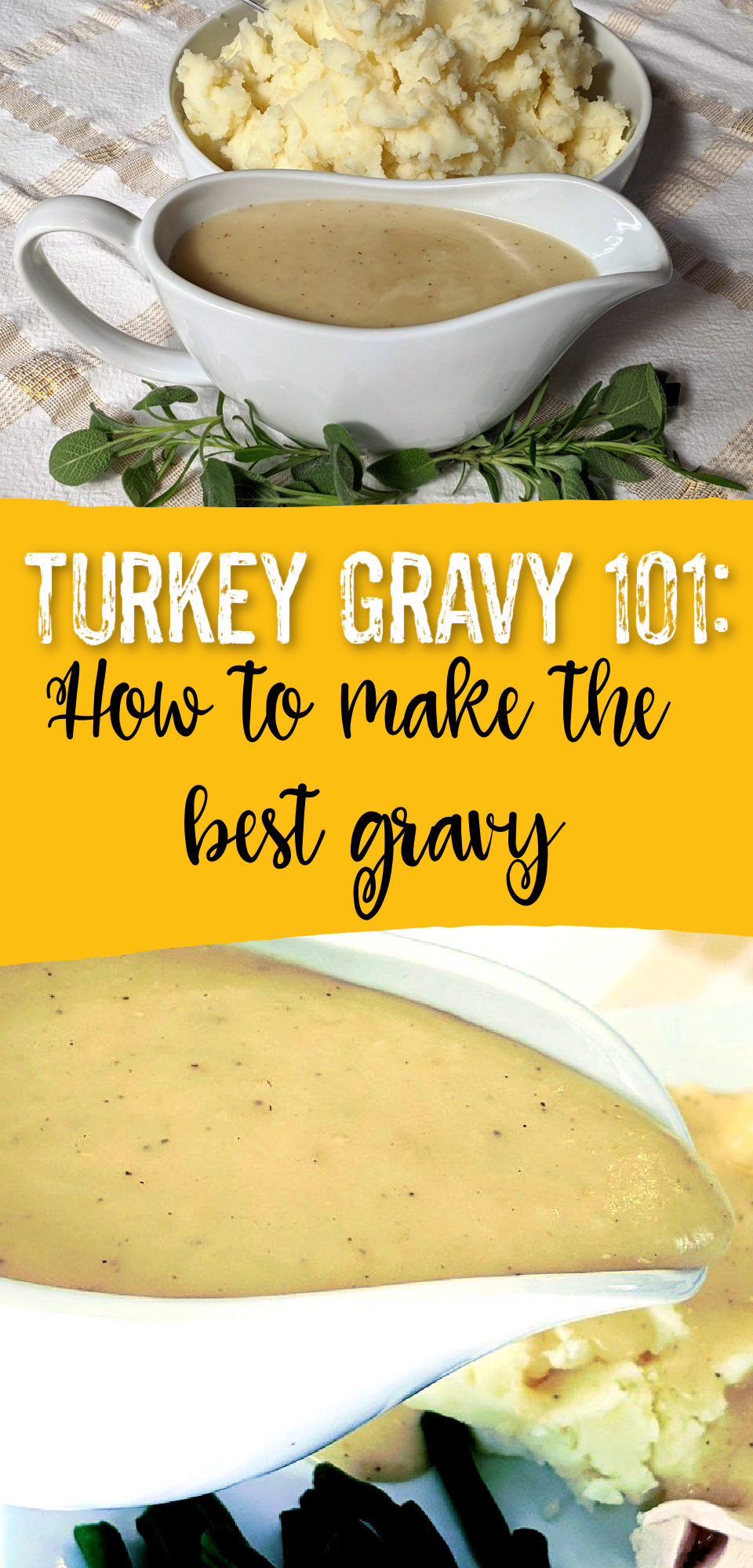 There is nothing quite like a homemade gravy recipe! This recipe will teach you how to make the perfect turkey gravy using drippings. You'll never do gravy another way again! via @simplysidedishes89