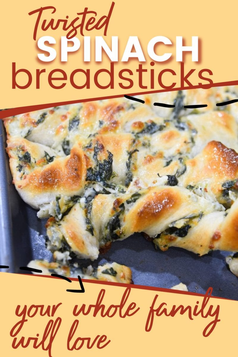 This spinach breadstick recipe is perfect for any event or meal, whether it's watching football with your friends or serving a delicious meal to your family. via @simplysidedishes89