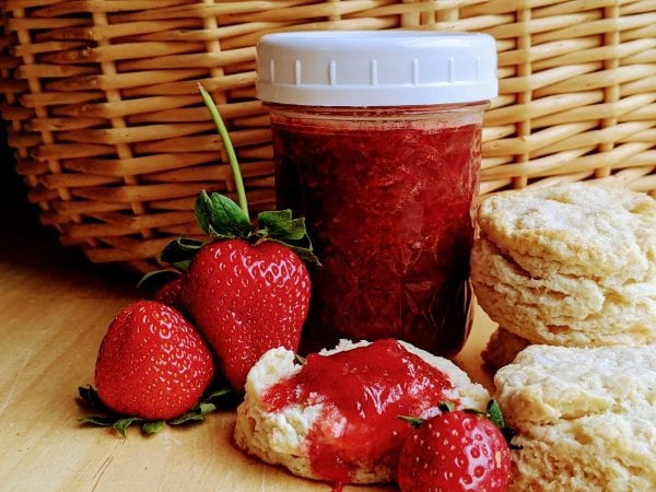 Low Sugar No Pectin Strawberry Jam