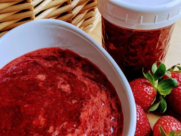 cooked strawberry jam no pectin
