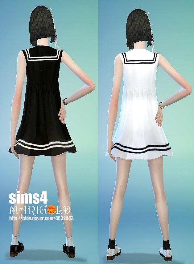 Male 4 Marigold Sims Skirt