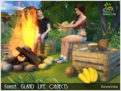 Island Life objects at Sims by Severinka » Sims 4 Updates