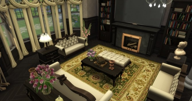 Luxury Mansion By Gizky At Mod The Sims 187 Sims 4 Updates