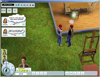 The Sims 3: Early User Interface Designs