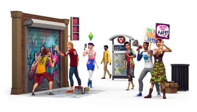 The Sims 4 City Living: New Render
