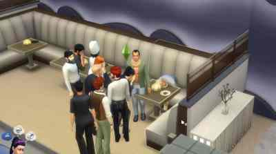 The Sims 4 City Living: Pufferfish Death Clip