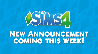 The Sims 4: New Announcement coming this week!