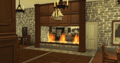 Using The Sims 4 Build Mode as a Box of Building Blocks