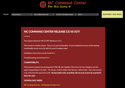 MC Command Center has a new download location + new update!