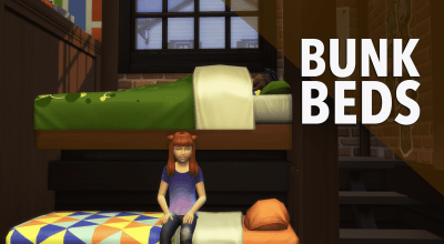 The Sims 4 Creative Construction: Bunkbed DIY