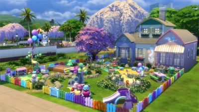 The Sims 4 Toddler Stuff Gallery Spotlight: Parks & Houses