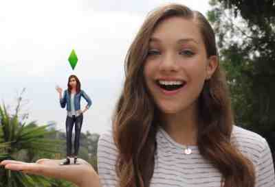 The Sims 4: Maddie Ziegler Video Ad + Official Sim Download