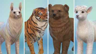 12 Animals recreated in The Sims 4 Cats & Dogs