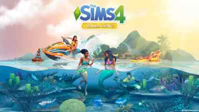 The Sims 4 Island Living: Desktop and Smartphone Wallpaper