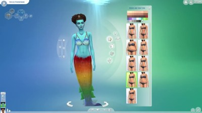 The Sims 4 Island Living: First Look at Mermaids | SimsVIP