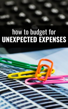 How To Budget For Unexpected Expenses Single Moms Income