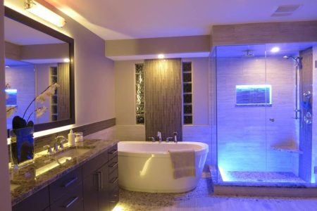 18 Amazing LED Strip Lighting Ideas For Your Next Project   SIRS E     17  Bathroom LED Lighting Ideas