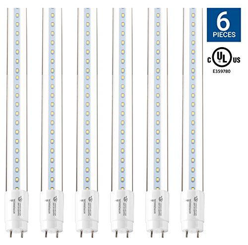 4ft Fluorescent Fixtures Kitchen