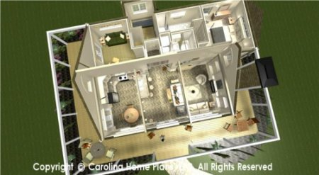 HOUSE PLANS WITH SPLIT BEDROOM LAYOUTS   House Plans By Category SG 947 Split Bedroom House Plan