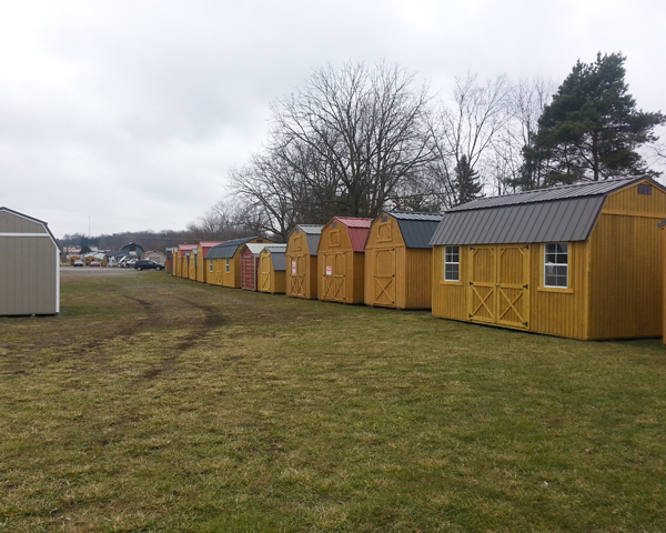 Utility Sheds Own Rent
