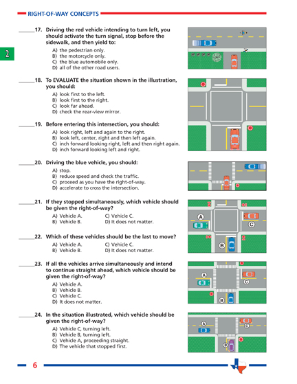 Education Printable Driver Worksheets