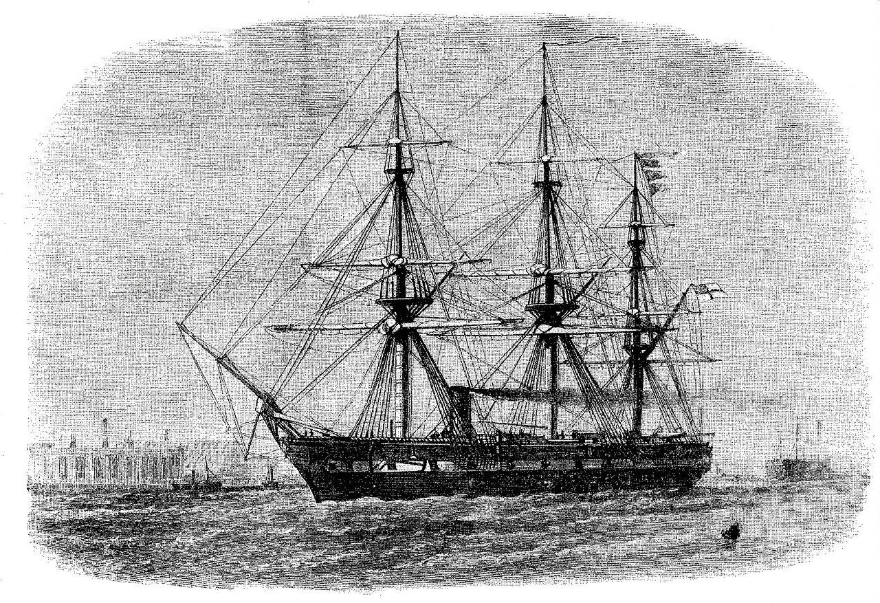 The Challenger Expedition   OGHS Oceanography     was originally a British Royal Navy corvette  that is a small warship   It was first launched on 13 February 1858  It was a steam assisted sailing  ship
