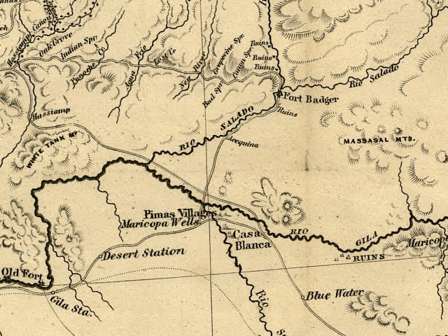 Rowe Mexico Map Mesa New