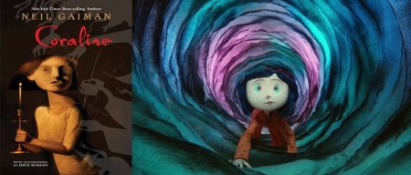 Coraline Book   Movie Review  by D  Green   THE PAW PRINT Canfield     By Dashiell Green
