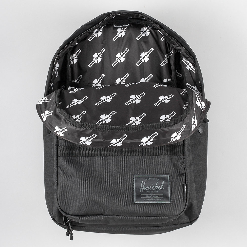 Herschel x Independent Pop Quiz Pack Backpack Black at ...