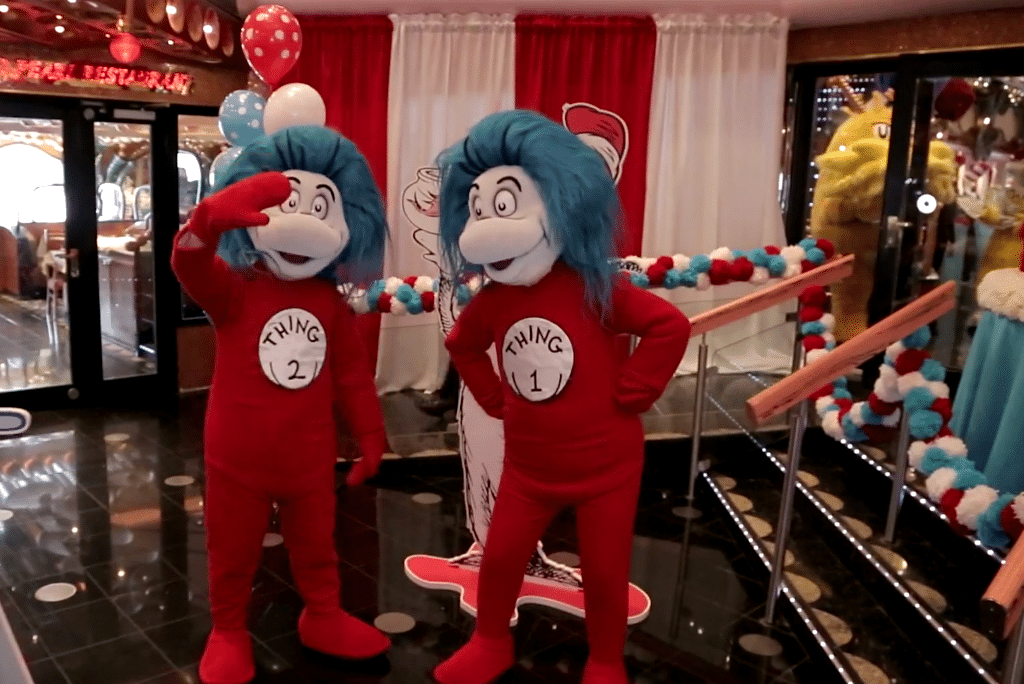 Dr Seuss Becomes Carnival S Official Partner For Onboard