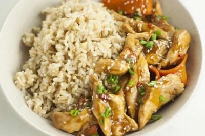 One-Pot Sesame Chicken Recipe   Healthy One-Pot Meals