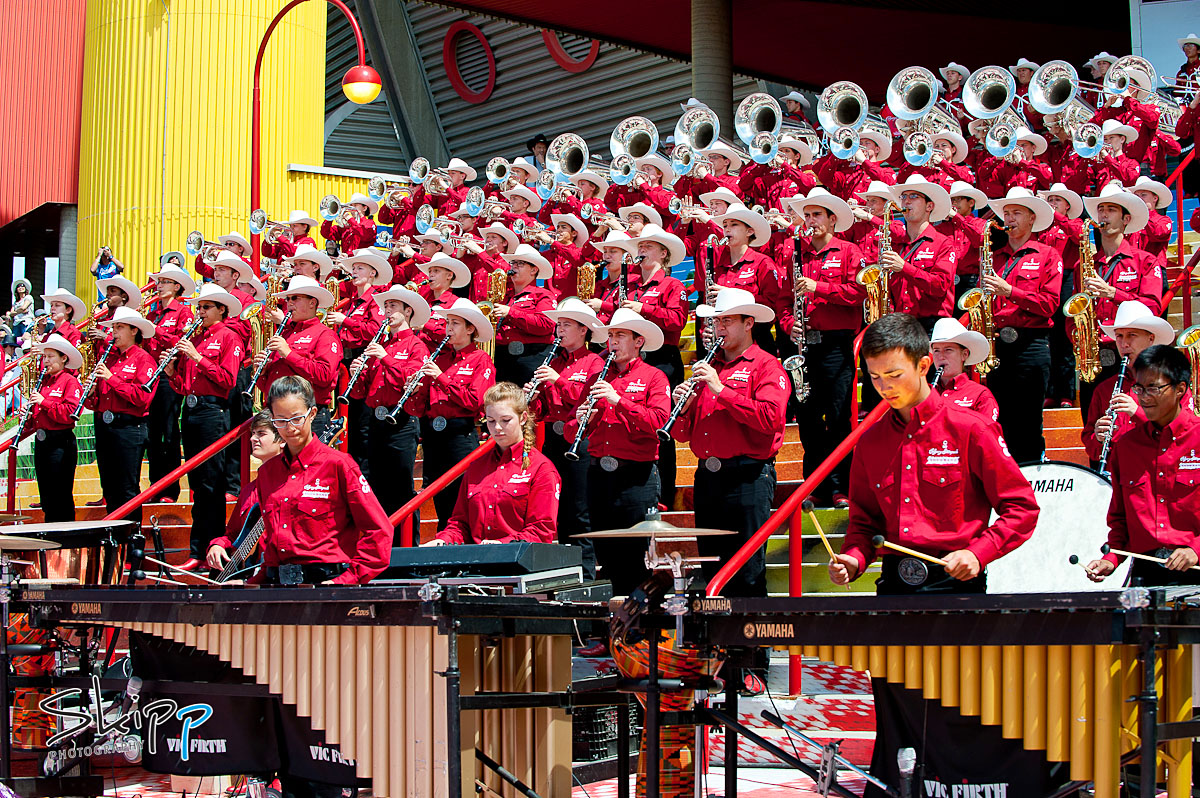 Calgary Showband Early Steps Performance Skipp Photography