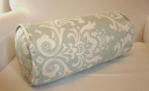 Kuinka ompele tyynyn rulla omalla kädet: kuviot, koot koot