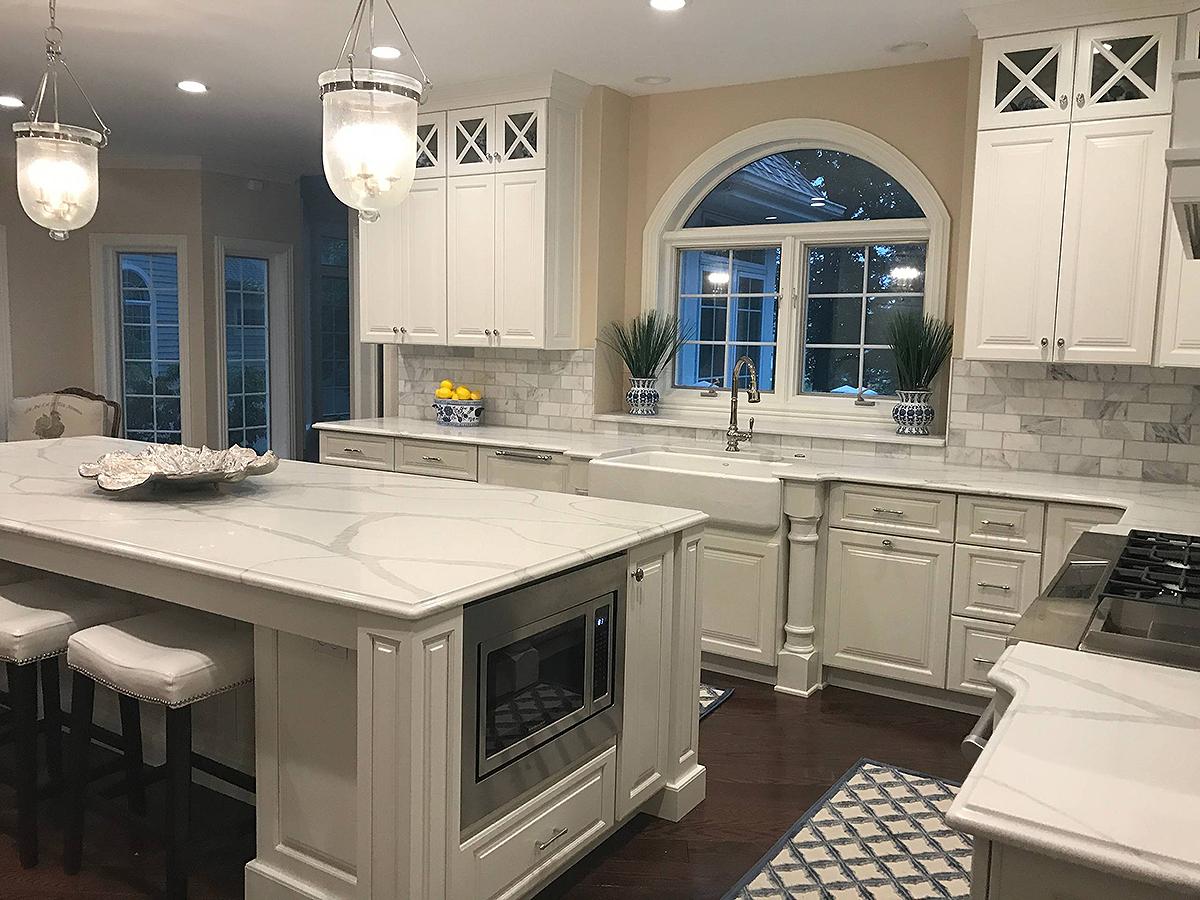 6 Elegance White Quartz Countertops Kitchen Ideas