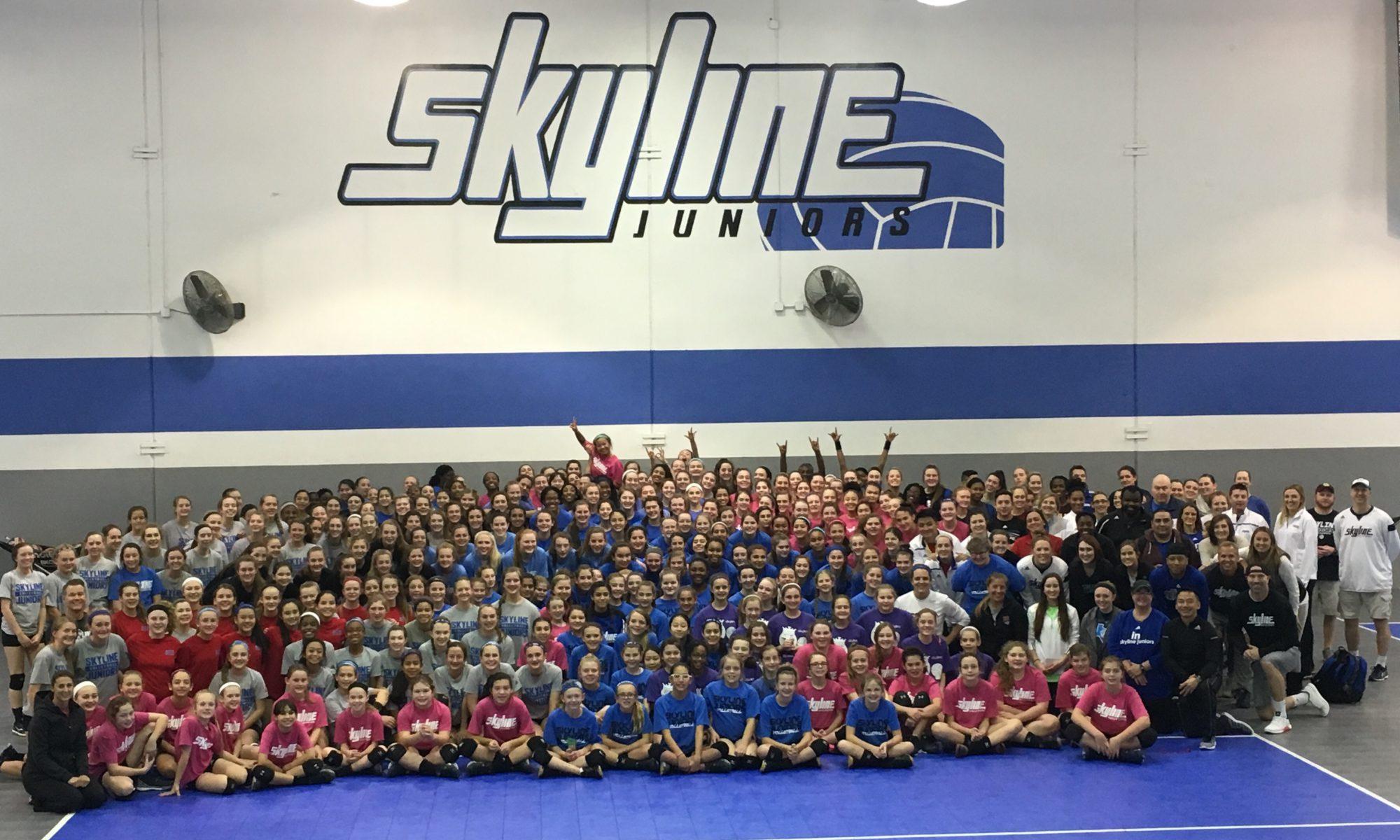 Plano Juniors Skyline Volleyball