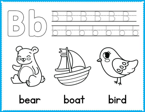 free preschool coloring pages # 21
