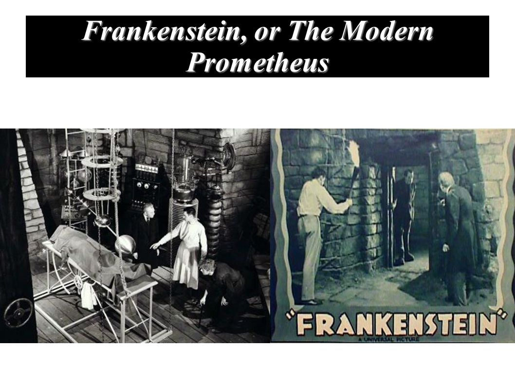 frankenstein or the modern prometheus - HD 1058×793