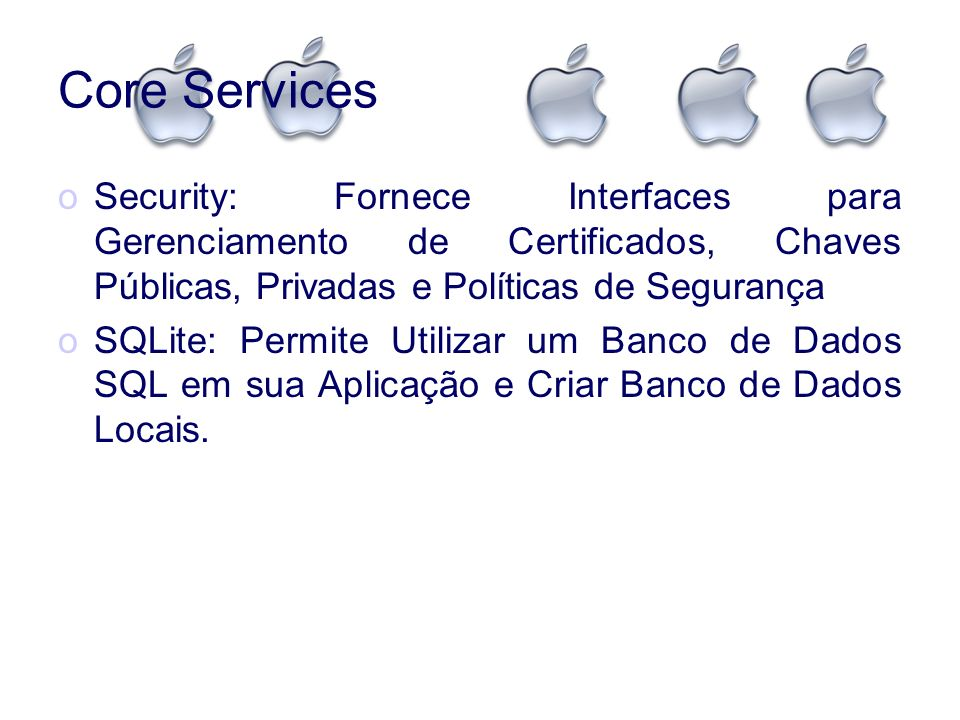 Core Security Services