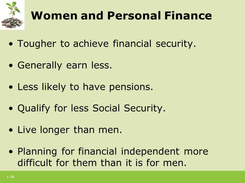 Personal Financial Security