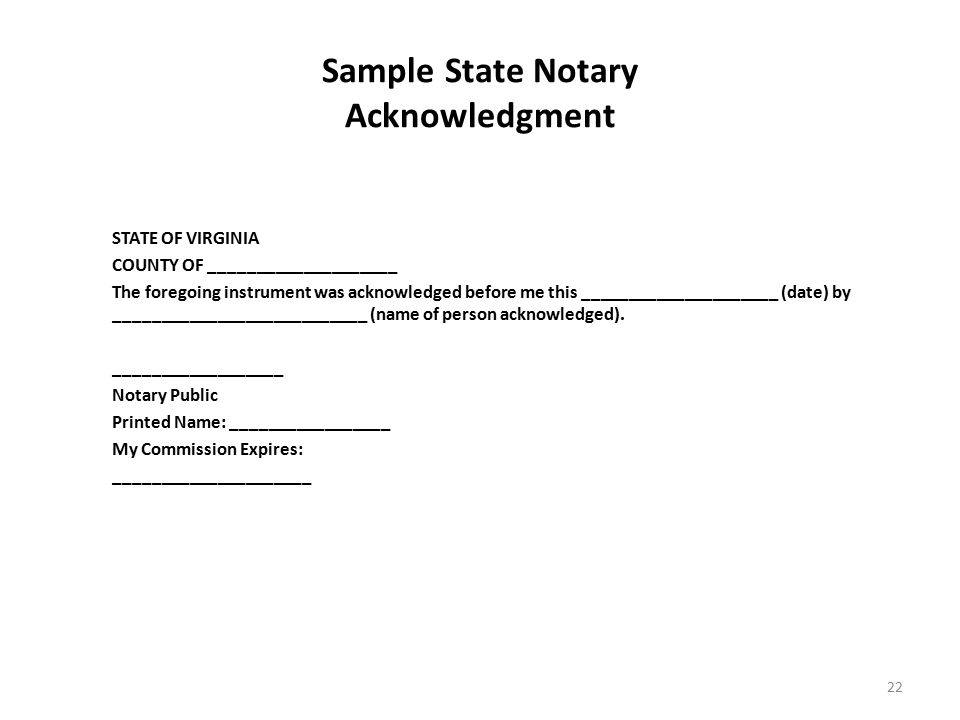 Florida Notary Commission