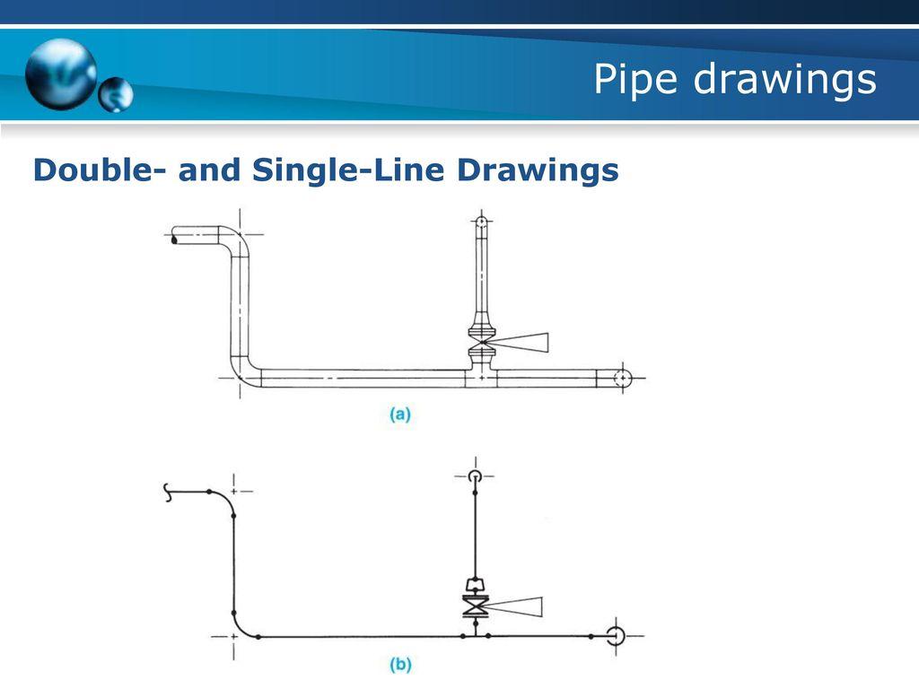 Single Line Isometric Pipe Drawing Symbols