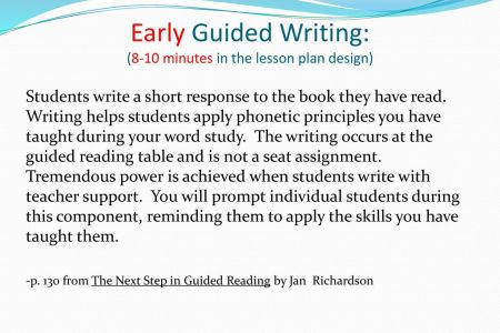 Guided Writing Template Gallery Template Design Ideas