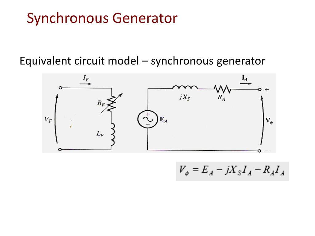 Wiring Diagram Synchronous Generator Free Download Wiring Diagram
