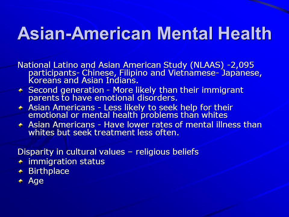 Americans Mental Illness